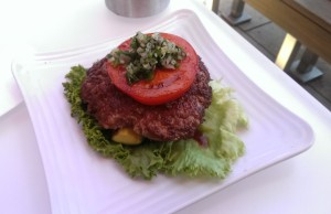 Paleo burger from Burger Lounge
