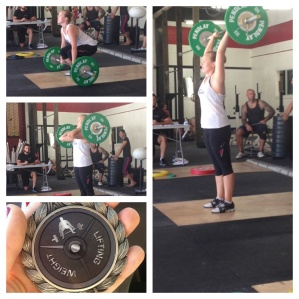 1st weightlifting meet