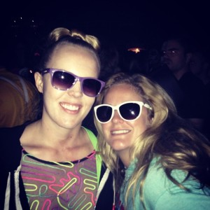 Sunglasses at Night at Day of the Dead