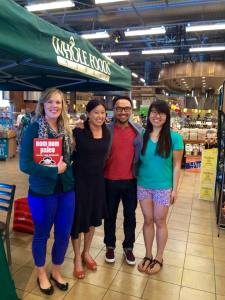 Meeting Michelle Tam & her husband Henry at Whole Foods Pasadena