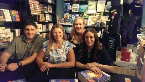 Mediterranean Paleo book signing in Manhattan Beach